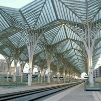 Photo taken at Gare do Oriente Train Station by Joao-Pedro D. on 11/7/2012