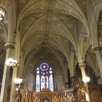 Photo taken at St. Patrick's Old Cathedral by TJ P. on 12/30/2012