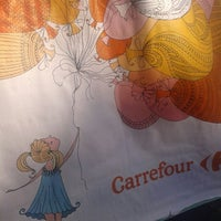 Photo taken at Carrefour by Tamiris S. on 6/22/2014