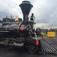 Photo taken at Umekoji Steam Locomotive Museum by たむやむ on 8/17/2015
