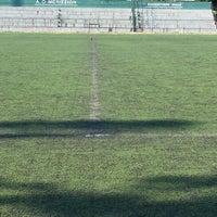 7/14/2017 tarihinde Despina K.ziyaretçi tarafından Γήπεδο Ποδοσφαίρου Μελισσίων'de çekilen fotoğraf
