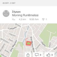 Photo taken at Γήπεδο Ποδοσφαίρου Μελισσίων by Despina K. on 9/29/2016