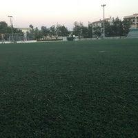 7/8/2017 tarihinde Despina K.ziyaretçi tarafından Γήπεδο Ποδοσφαίρου Μελισσίων'de çekilen fotoğraf