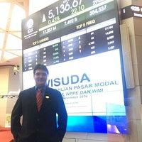 Photo taken at Tower 1 - Indonesia Stock Exchange by Eko N. on 11/29/2016