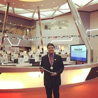 Photo taken at Tower 1 - Indonesia Stock Exchange by Eko N. on 12/1/2016