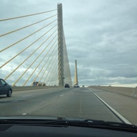 Photo taken at St. Georges Bridge by Holly F. on 8/23/2014