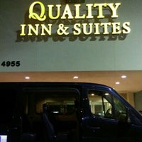 Photo taken at Quality Inn & Suites by Shawn C. on 5/22/2015