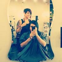 Photo taken at HOTBOX salon + spa by Zobi N. on 8/31/2013