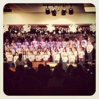 Photo taken at Nate Mack Elementary School by Zobi N. on 12/21/2012