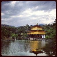Photo taken at Kinkaku-ji Temple by 森山 健. on 4/9/2013