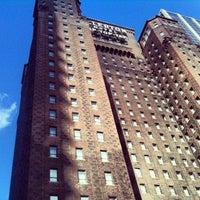 Photo taken at Warwick Allerton Hotel Chicago by Anna P. on 10/10/2012