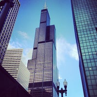Photo taken at Willis Tower by Anna P. on 6/29/2013