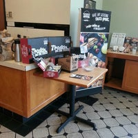Photo taken at Bruegger's by Michael T. on 5/10/2015