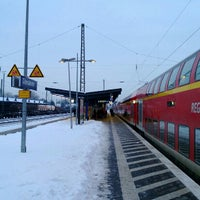 Photo taken at Gütersloh Hauptbahnhof by wusel on 1/23/2013