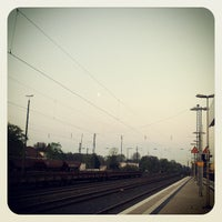 Photo taken at Gütersloh Hauptbahnhof by wusel on 4/29/2013