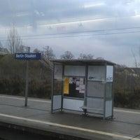 Photo taken at Bahnhof Berlin-Staaken by wusel on 11/27/2012