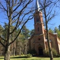 Photo taken at Salas Sv.Jāņa ev.Luterāņu baznīca by Raivis R. on 5/4/2016