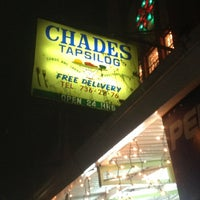 Foto tomada en Chades Tapsilog por icee y. el 12/2/2012