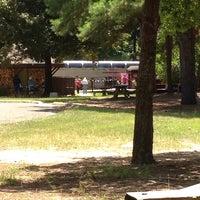 Photo taken at Texas State Railroad Rusk Depot by Kae H. on 8/23/2014