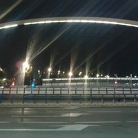 Photo taken at Puente de Ventas by Pablo C. on 5/8/2013