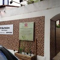 Photo taken at Barbeiro - Salão Unissex by Gustavo C. on 7/16/2014