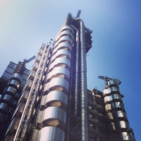 Photo taken at Lloyd's of London by Djenan K. on 7/7/2013