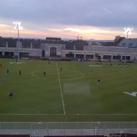 Photo taken at Thompson Field by John S. on 9/25/2012