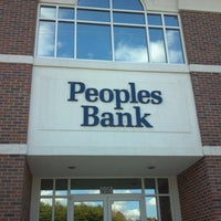 Photo taken at Peoples Bank by Holly S. on 10/25/2012