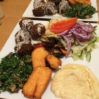 Photo taken at Falafel Moudi by Nick B. on 5/1/2015