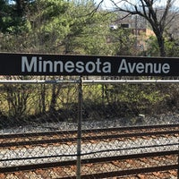 Photo taken at Minnesota Avenue Metro Station by Mike M. on 3/4/2017