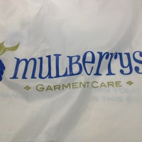 Photo taken at Mulberrys Garment Care by Mike M. on 9/21/2013