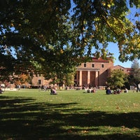 Photo taken at Norlin Library - University of Colorado at Boulder by Jack on 10/22/2013