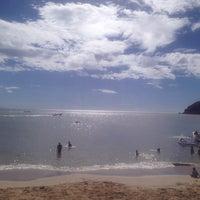 Photo taken at Playa La Galera by Edgar R. on 5/25/2014