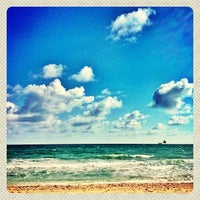 Photo taken at Fort Lauderdale Beach by brian s. on 1/12/2013