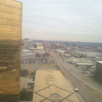 Photo taken at DoubleTree by Hilton Hotel Dallas - Campbell Centre by Donny L. on 1/4/2013