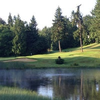Photo taken at Canterwood Golf And Country Club by Chris H. on 7/13/2013