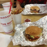Photo taken at Five Guys by Lilitherapy on 8/6/2013