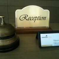 Photo taken at Anatolia Hotel Komotini by Antonio S. on 10/2/2012