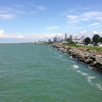 Photo taken at Edgewater Park by Meggs on 6/28/2013