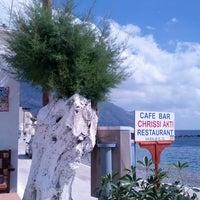 Photo taken at Chrissi Akti / Golden Beach by Julius d. on 5/15/2013