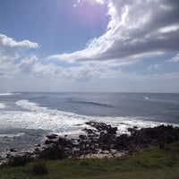 Photo taken at Cabarita Beach by Patricia A. on 4/20/2013