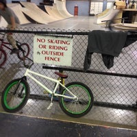 Photo taken at Springfield Skate Park by Biker C. on 2/7/2014