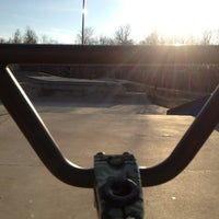 Photo taken at Springfield Skate Park by Biker C. on 1/23/2013