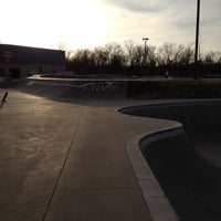 Photo taken at Springfield Skate Park by Biker C. on 12/2/2012