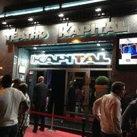 Photo taken at Teatro Kapital by Mario C. on 6/16/2013