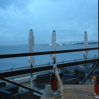 Photo taken at Rooftop Pool @ Le Méridien Nice by Leonardo R. on 1/1/2013