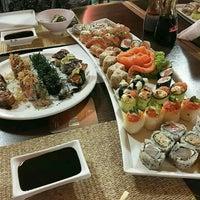 Photo taken at Sushi Box by Luana B. on 10/9/2016