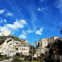 Photo taken at Tropea by Fabrizio G. on 4/2/2014