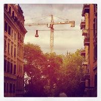 Photo taken at Piazza Dante by David O. on 9/19/2012