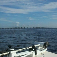 Photo taken at Henry Holland Buckman Bridge by Tamara S. on 10/6/2012